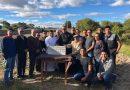 Bendicion de la primera piedra de la Casa de Oracion en Atuntaqui